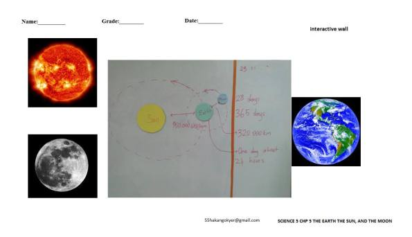 SCIENCE-5-CHP-5-SUN-EARTH